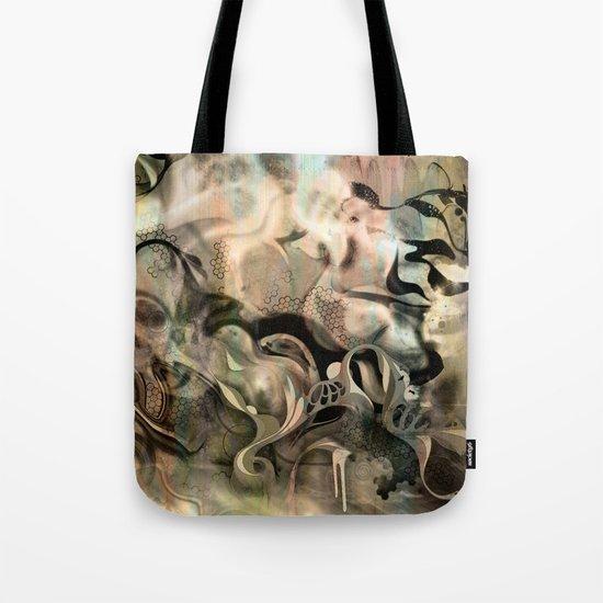 Fluidity Noir Tote Bag