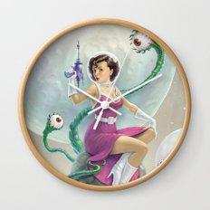 Astro Babe Wall Clock