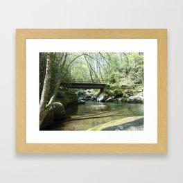 Big Creek Bridge Framed Art Print