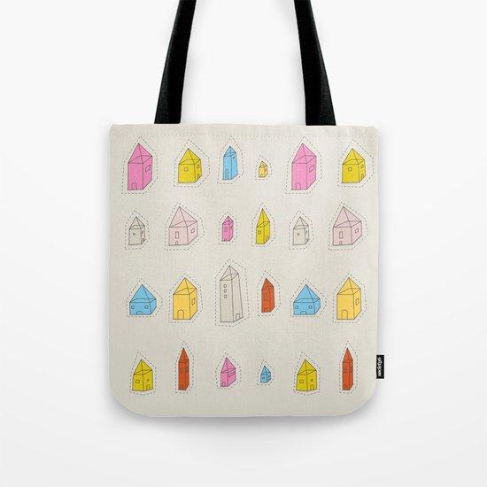 Transparent Houses Tote Bag