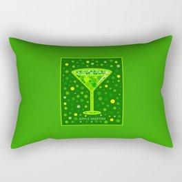 Apple Martini | Cocktail | Pop Art Rectangular Pillow