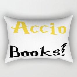 Accio books! (Gold) Rectangular Pillow