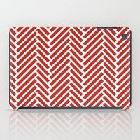 herringbone iPad Cases featuring Herringbone Candy by Project M