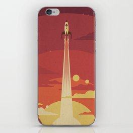 Atomic Sky iPhone Skin