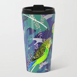 Green Parakeets Travel Mug