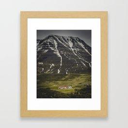 Sleepy Town of One Framed Art Print