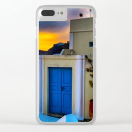 Santorini 27 Clear iPhone Case