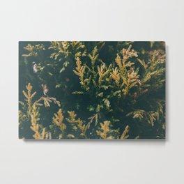 The Living Green Metal Print
