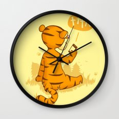 Ta Ta For Now Wall Clock