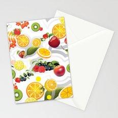 Mix Fruits V Stationery Cards