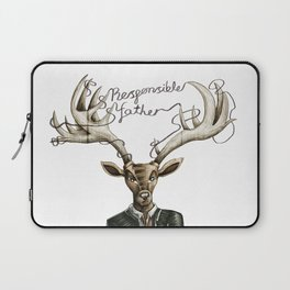 Responsible father / Padre responsable Laptop Sleeve
