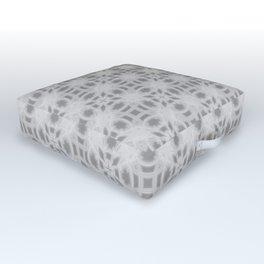Grey Gears Outdoor Floor Cushion