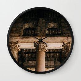 Pantheon VIII Wall Clock