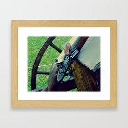 Old Muzzleloader  Framed Art Print