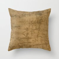 antique Throw Pillows featuring Antique by SarahKdesigns