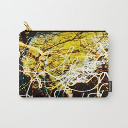 Chaos Tree - Light Painting Carry-All Pouch
