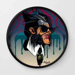 wolvereen  vs Karl Lagerfeld  Wall Clock