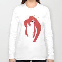 gurren lagann Long Sleeve T-shirts featuring Minimalist Yoko by 5eth