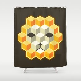 PixeLion Shower Curtain