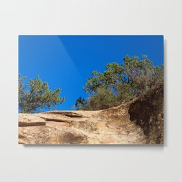 Anasazi Skies Over Ancient Canyons Metal Print