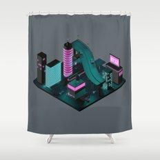 Nippon 2061 Portrait Shower Curtain