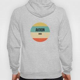 Akron Ohio design   Akron design Hoody
