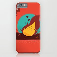 :::Love is on the fire::: Slim Case iPhone 6s