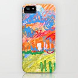 Sunset Landscape iPhone Case