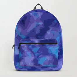 Purple Bohemian Tie Dye Backpack