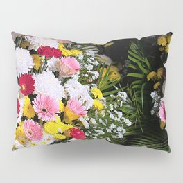 Tropical flowers Pillow Sham