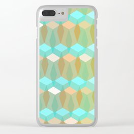 Shapes Clear iPhone Case