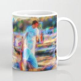 Summer fun at the beach Coffee Mug