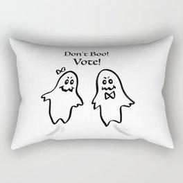 Don't Boo! Vote! Rectangular Pillow