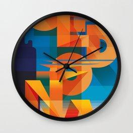 SEDONA SUNSET Wall Clock