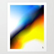 Upward Horizon Art Print