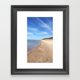 The Walk Framed Art Print
