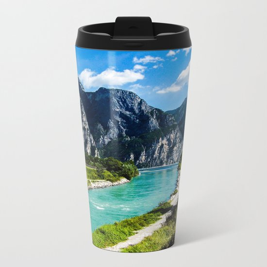 A River Runs Through It II Metal Travel Mug