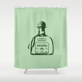 Patron Tequila Pop Art Shower Curtain