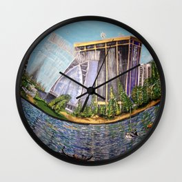 Oakland Jewel From Oakland.Style Wall Clock