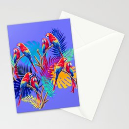 Macaws Stationery Cards