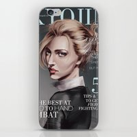 snk iPhone & iPod Skins featuring SnK Magazine: Annie by emametlo