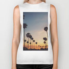 Palm Tree Summer Biker Tank