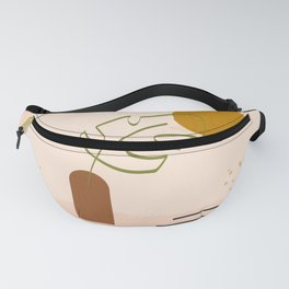 Bloom Alone Abstract Fanny Pack