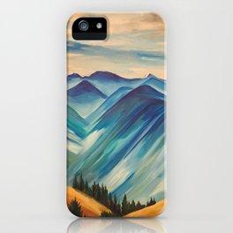 Hurricane Ridge, Olympic National Park iPhone Case