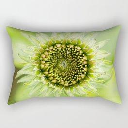 Coneflower Opening Rectangular Pillow