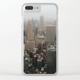 Top of the Rock NYC Clear iPhone Case