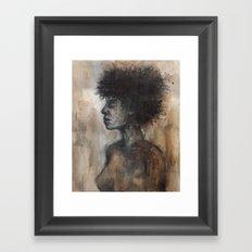 Inside the Flame Framed Art Print