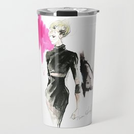 Fashion Model Travel Mug