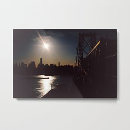 From The Bridge Metal Print