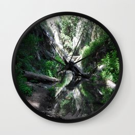 Hush of the forest Wall Clock
